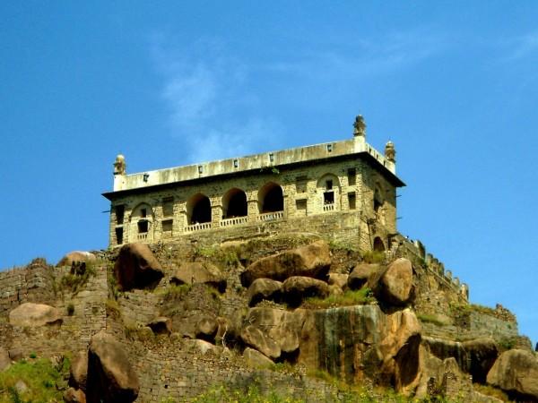 Golconda Fort Photo: commons.wikimedia.org