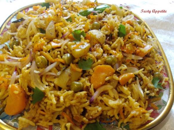 Vegetarian Biryani Photo: imgkid.com