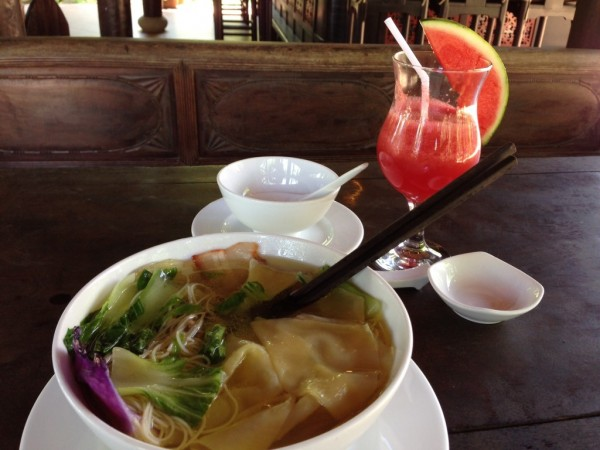 I am a soup person. Here is another one - wonton soup. Maybe not entirely Vietnamese, but I saw it almost everywhere.