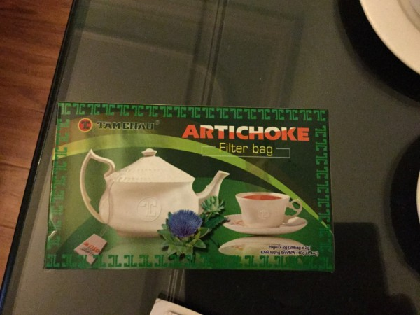Tea from artichoke. Ever heard anything like this?
